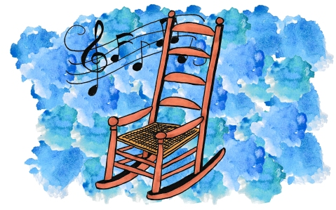 "Illustration by Kate Gavino for ""The Boom Boom Song"" by Richard Gilbert"