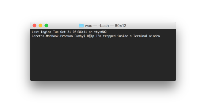 The command line can be intimidating for a non-developer