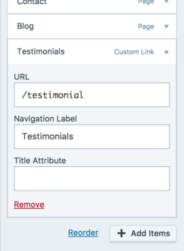 14 customizer menu primary remove page
