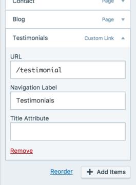 14 customizer menu primary remove page